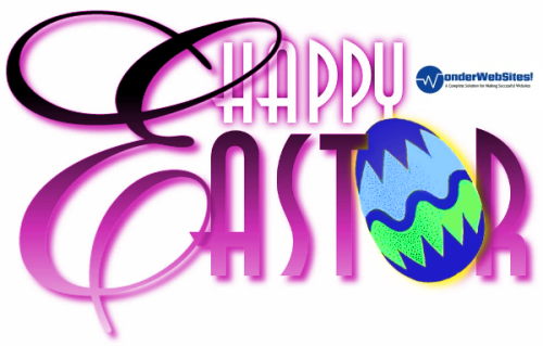 easter wish for webdesigning clients